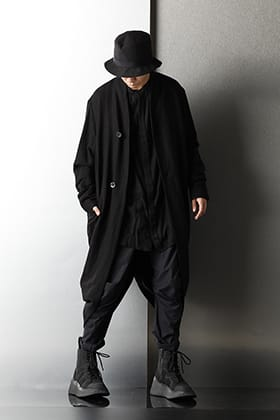 JULIUS 2020-21AW All Black Styling