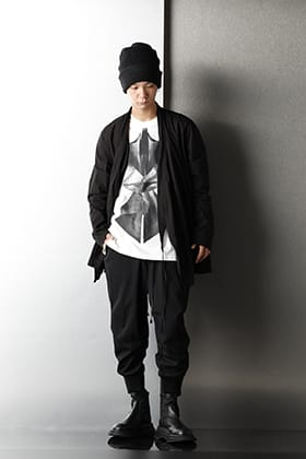 JULIUS 2020-21AW Monotone Japanese detail Styling
