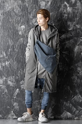 Boris Bidjan Saberi 20-21AW Faded Dark Gray x Faded Synth Blue Style