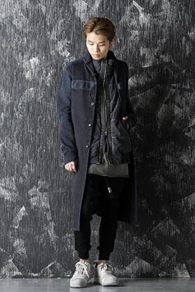 BBS 20-21AW WORK COAT 2 Synth Blue Style