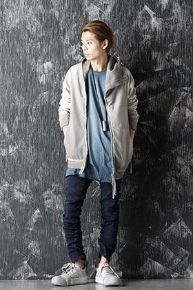 Boris Bidjan Saberi 20-21AW Blue x Gray Style