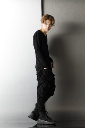 JULIUS 2020-21AW GAS MASK CARGO PANTS Styling