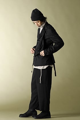 20AW The Viridi-anne Combination Wool Jacket & Widepants Set-up Styling!!