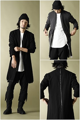 20AW ASKYY【LAYERED LONG JACKET】3 color Styling!!