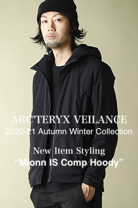 ARC'TERYX VEILANCE 2020-21AW New Item【Mionn IS Comp Hoody】Styling