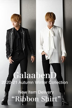 GalaabenD New item Delivery【Ribbon Shirt】Styling!!