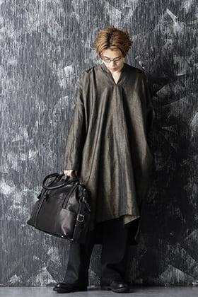 JAN-JAN VAN ESSCHE 20-21AW Gold Wool Linen Tunic Style
