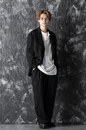 Yohji Yamamoto 20-21AW M-3BS Layered Jacket Style