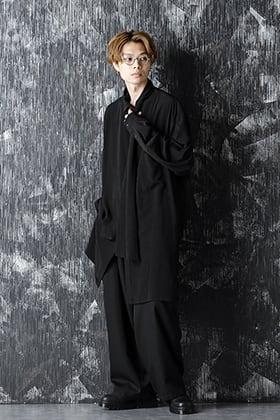 Yohji Yamamoto 20-21AW Scarf collar Blouse Style