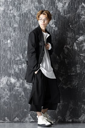Yohji Yamamoto 20-21AW Wrinkled Gabardine Reversible Jacket Style