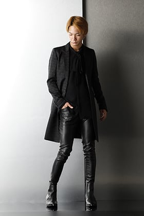 GalaabenD - ガラアーベント Black Slim silhouette AW Styling