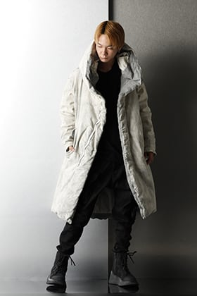 JULIUS 2020-21AW PADDED DENIM COAT Winter Styling
