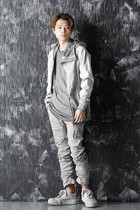 BBS 20-21AW a Variety Of Shades Of Gray Style