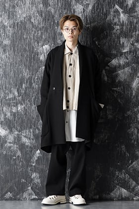 JAN-JAN VAN ESSCHE 20-21AW Short Jacket and Long Coat Layered Style