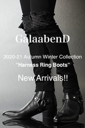 GalaabenD 2020-21AW New Item【Harness Ring Boots】Delivery!!
