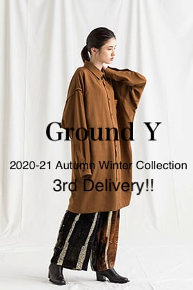 Ground Y 2020-21AW Collection 3rd Delivery Release!!