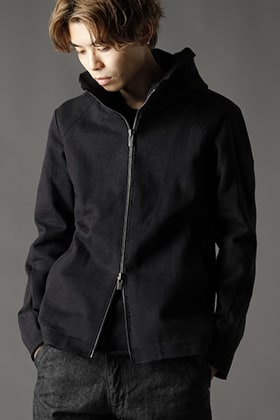ANNASTESIA / DEVOA:Heavy Jersey Hooded Jacket