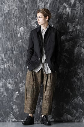 ZIGGY CHEN 20-21AW Virgin Wool Silk 5B JACKET Style