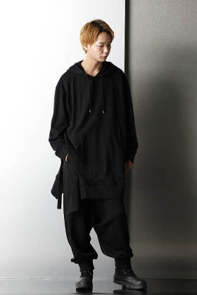 Ground Y Black Rough silhouette Styling