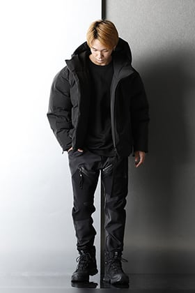The viridi-anne - ヴィリディアン 20AW All Black Winter styling.