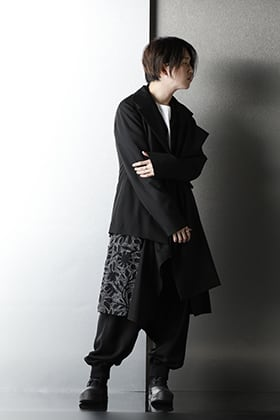 Ground Y - グラウンドワイ 2020-21AW Embroidery Black Styling