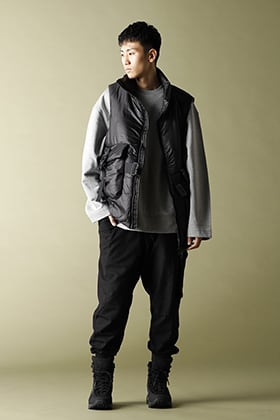 Y-3 20-21AW CH3 LIGHTWEIGHT PUFFY VEST Styling