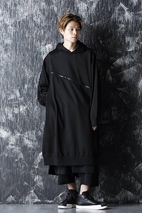 B Yohji Yamamoto 20-21AW Zip Long Hoodie Style