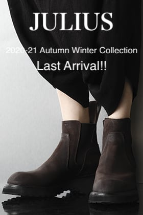 JULIUS 2020-21AW Collection Last Arrival!!