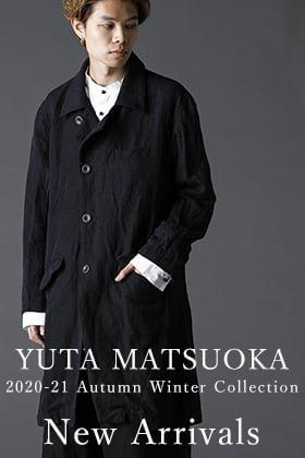 YUTA MATSUOKA Silk Linen Coat New Arrivals