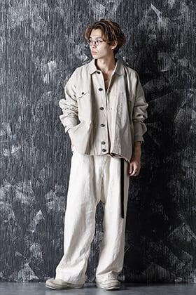 JAN-JAN VAN ESSCHE 20-21AW Jacket Natural Coated Flex Style