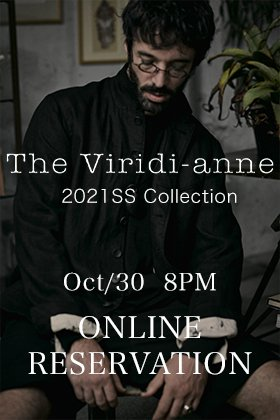 The Viridi-anne 2021SS Collection starts accepting reservations from October 30th at 8 PM!