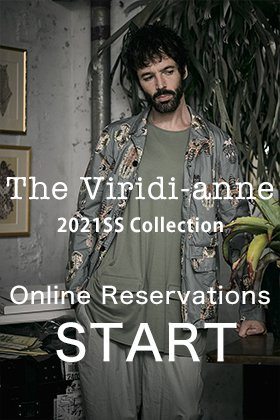 The Viridi-anne 2021SS collection is now available for reservations!