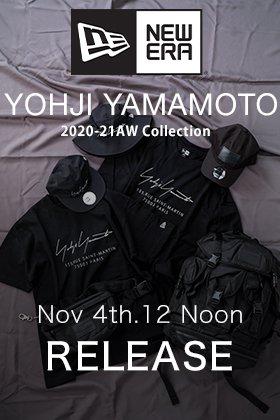 Yohji Yamamoto × New Era 20-21AW Release Date Notice