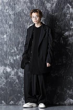 20-21AW Wrinkled Gabardine Reversible Jacket style