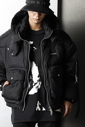 TATRAS × RIOT HILL 20AW lightweight Down Jacket Styling