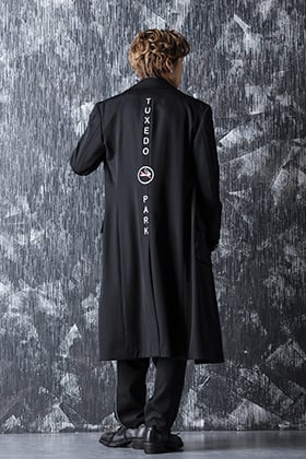 20-21AW Yohji Yamamoto W Long JKT Print A style