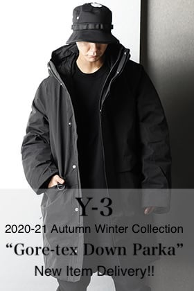 Y-3 2020-21AW New Item【GORE-TEX DOWN PARKA】Delivery!!