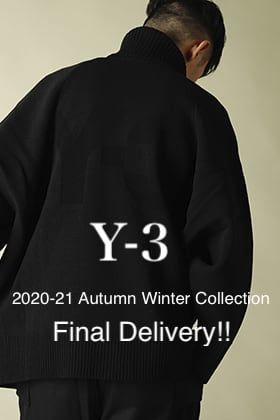 Y-3 2020-21AW Final Delivery!!