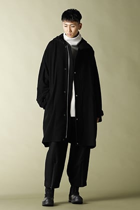 .LOGY Kyoto 20-21AW Ground Y Hood Coat STYLE!!