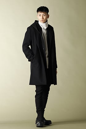 .LOGY Kyoto 20-21AW ATTACHMENT Hooded Chester Coat  STYLE!!