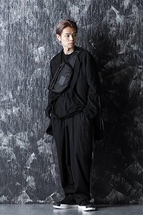 B Yohji Yamamoto 20-21AW セットアップの着崩しスタイル