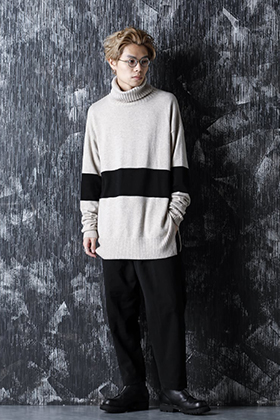 ZIGGY CHEN 20-21AW Baby Cashmere By Color Knit Style