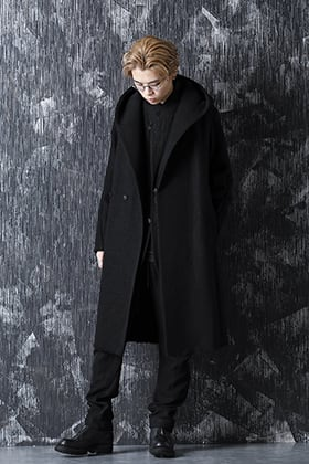 DEVOA 20-21AW Over Coat Layered Style