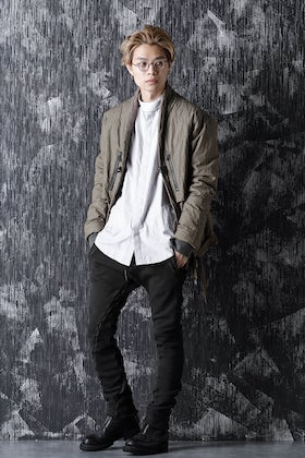 D.HYGEN 20-21AW clean military style