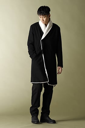 ASKyy 2020-21AW Boa Wrap Coat Styling