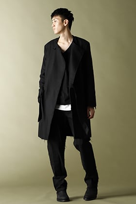 ASKyy 2020-21AW Belted Coat Styling