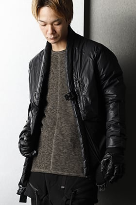 D.HYGEN - ディーハイゲン 20-21AW Nylon down Bomber jacket Styling
