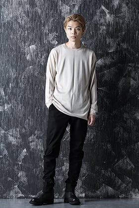 DEVOA 21SS Knit long sleeve silk / cashmere