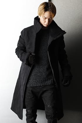 D.HYGEN - ディーハイゲン 2020-21AW Military High neck coat Styling