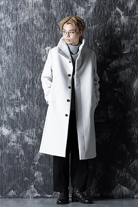individual sentiments - Snowgray High-Neck Coat